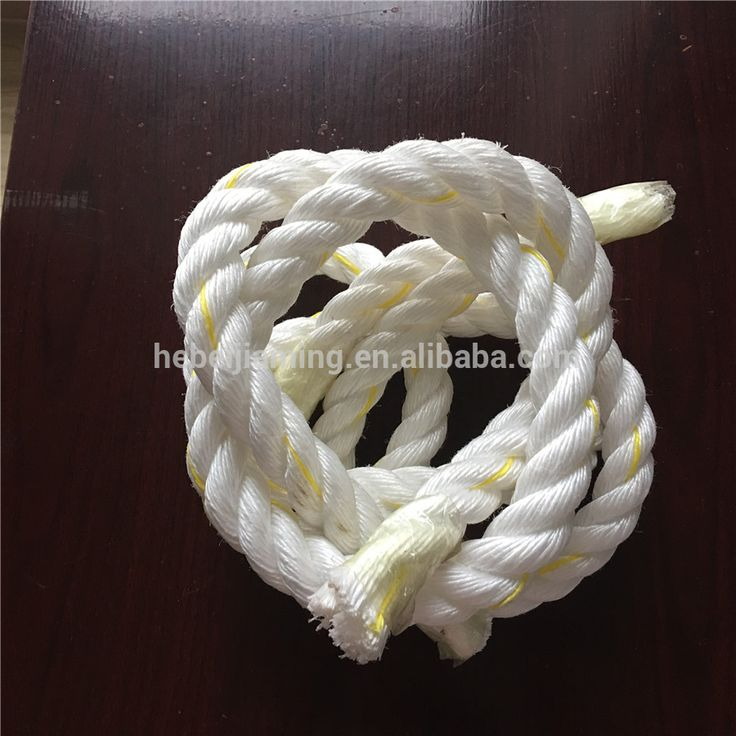 3 Strand Plastic PP Twisted Sailing Rope