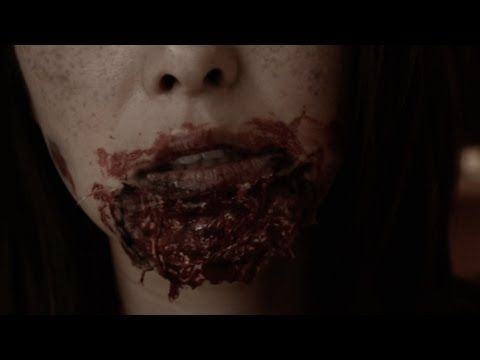 How To; Bloody Zombie Makeup Tutorial (Easy) - YouTube