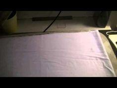 Как сшить красивый пододеяльник - YouTube