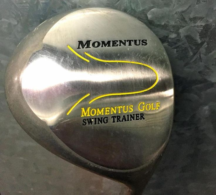 """Momentus Men's Swing Trainer Driver MOLDED GRIP~40"""" DRIVER VERY GOOD CONDITION #MomentusGolf"""