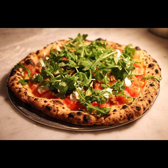 New York Pizza Tour Writer Katie Parla takes Italy's famous pizzaiolo, Gabriele Bonci of Rome's Pizzarium, on an eating tour of New York's pizza offerings.