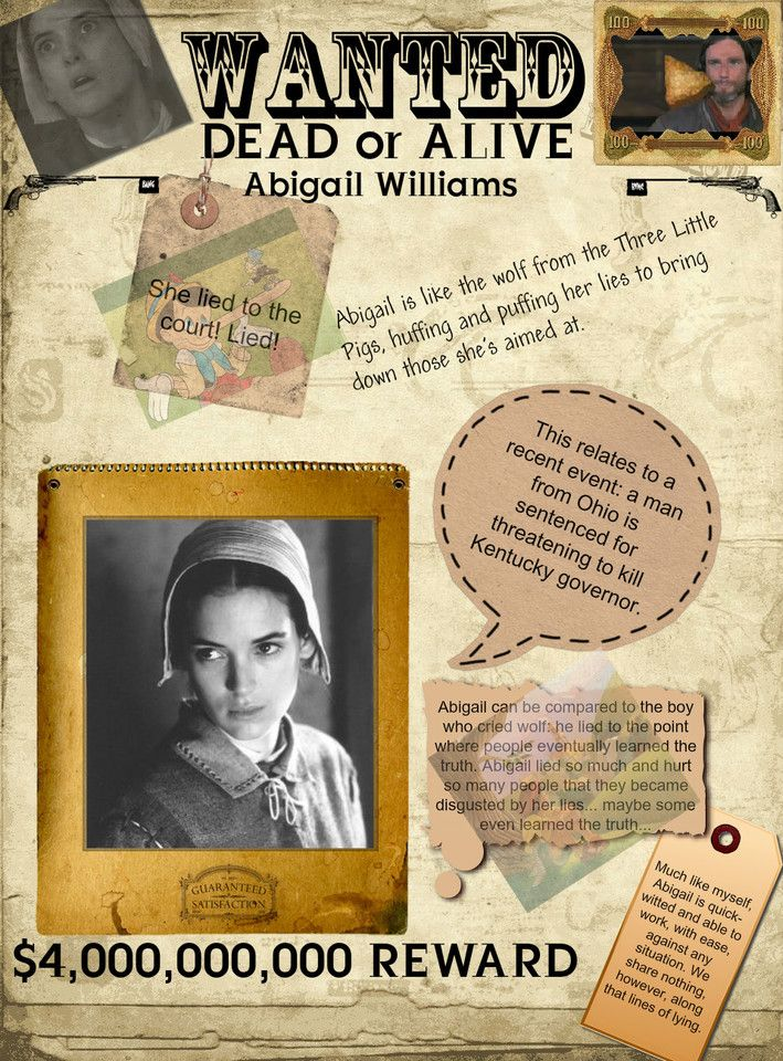 teh life of abigail williams a feminist Abigail williams' eighteenth century history puts books back into lives and homes, showing how readers used literature to shape their social worlds.
