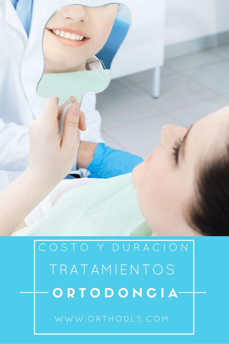Toda la información concerniente a duración y costos de un tratamiento de ortodoncia.