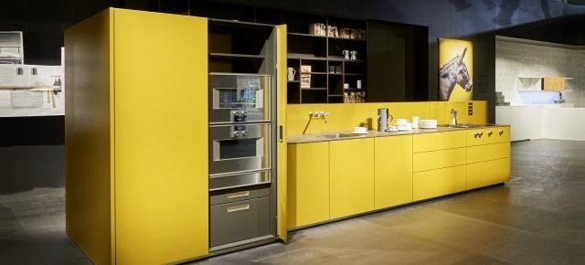 Kolorowa kuchnia przyszłości. Schüller na Living Kitchen 2017. Kuchnia NX 500, next125
