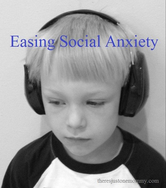 Do you have a child who seems a bit anxious when it come to being around other kids? Here are 4 tips we use to help ease that anxiety!