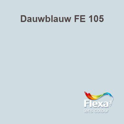 Flexa Expert kleur Dauwblauw FE 106