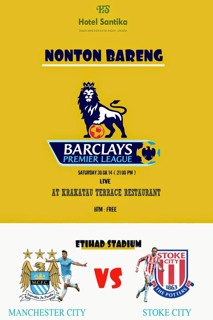 BARCLAY PREMIER LEAGUE NONBAR ( HOTEL SANTIKA TMII ): NONTON BARENG ( HOTEL SANTIKA TMII )
