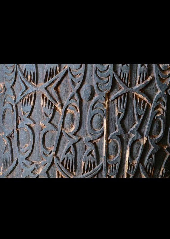 Asmat Sago Bowl West Papua Michael Rockefeller