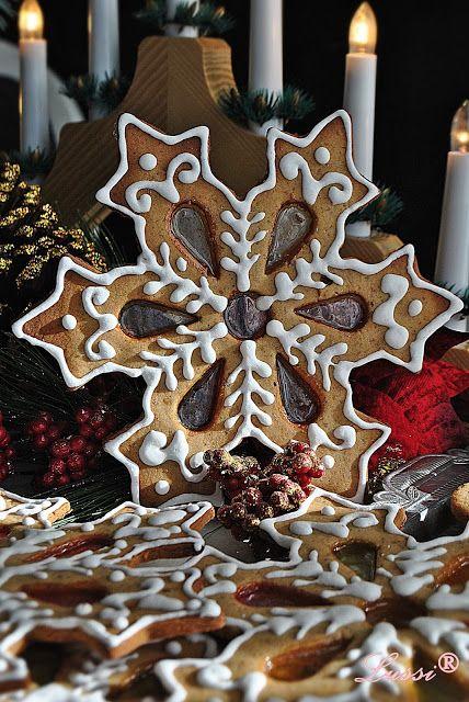 "Lussi`s World of Artcraft: Джинджифилови сладки ""Снежинки"" / Gingerbread cookies ""Snowflakes"""