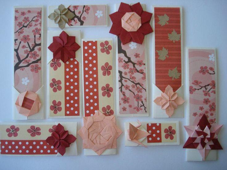 marcadores de livros com origamis...                                                                                                                                                      Mais