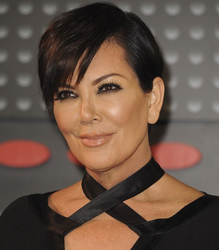 Grandma Kris Jenner in Ankle-Strap Sandals Poses with 34-Year-Old Boytoy