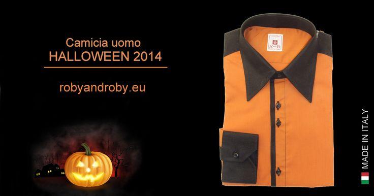 Camicia uomo #halloween 2014 Buon Halloween a tutti!!  #camiciauomo #mensshirt