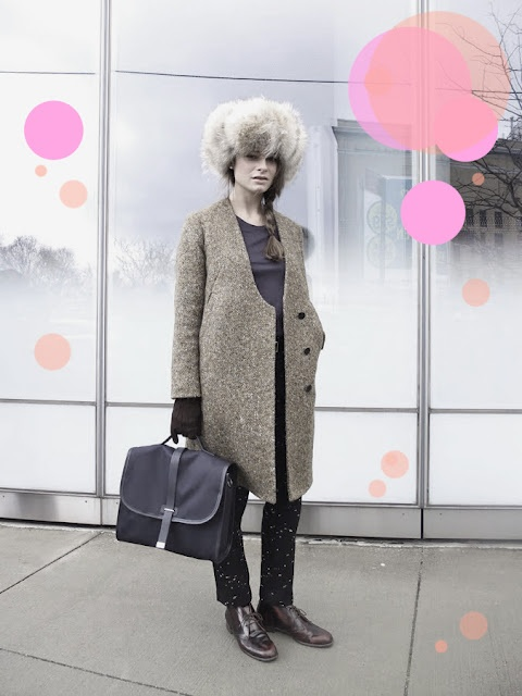 ._.: Style Magic, Women Style, Style Inspiration, Fashion Week, Coats Jackets, Fur Head, Style Pinboard, Fur Hats, Style Fashion