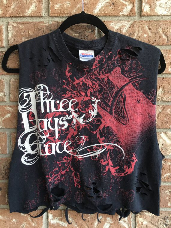 THREE DAYS GRACE tank top concert shirt band tee by Cranberrymoons
