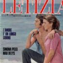 Max Delys, Simona Pelei, Letizia Magazine 20 July 1978 Cover Photo - Italy