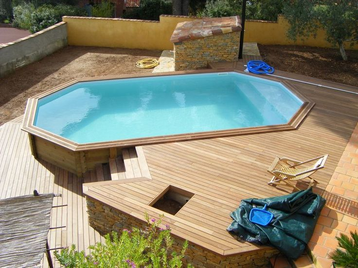 Stahlwandpool verschönern  37 best Pool bauen images on Pinterest | Swimming pools, Ponds and ...