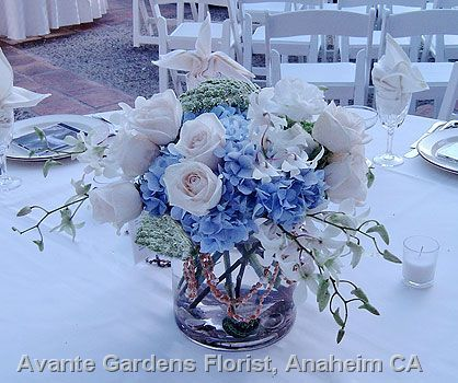 blue flower arrangements | Photos : Avante Gardens Florist Custom Floral Design Gallery - Anaheim ...