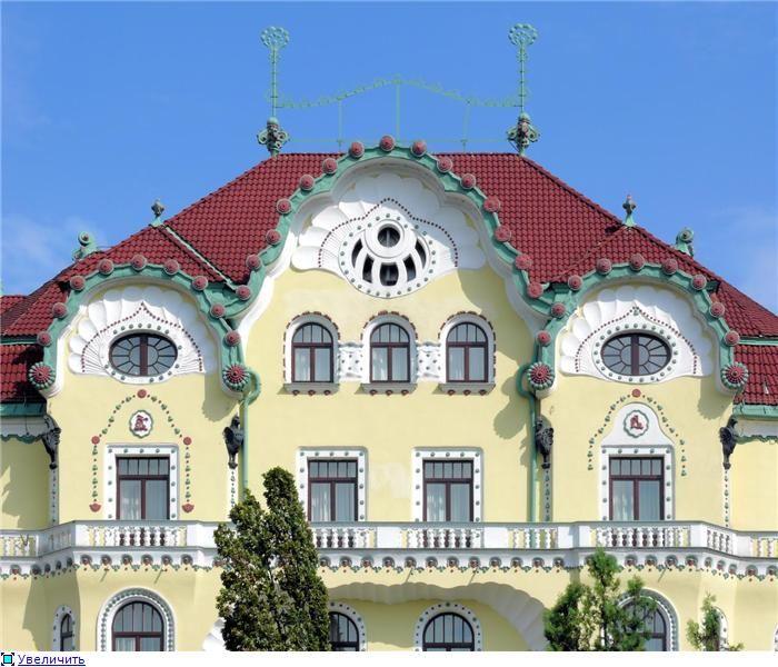 Romania, Oradea - Palatul Vulturul Negru