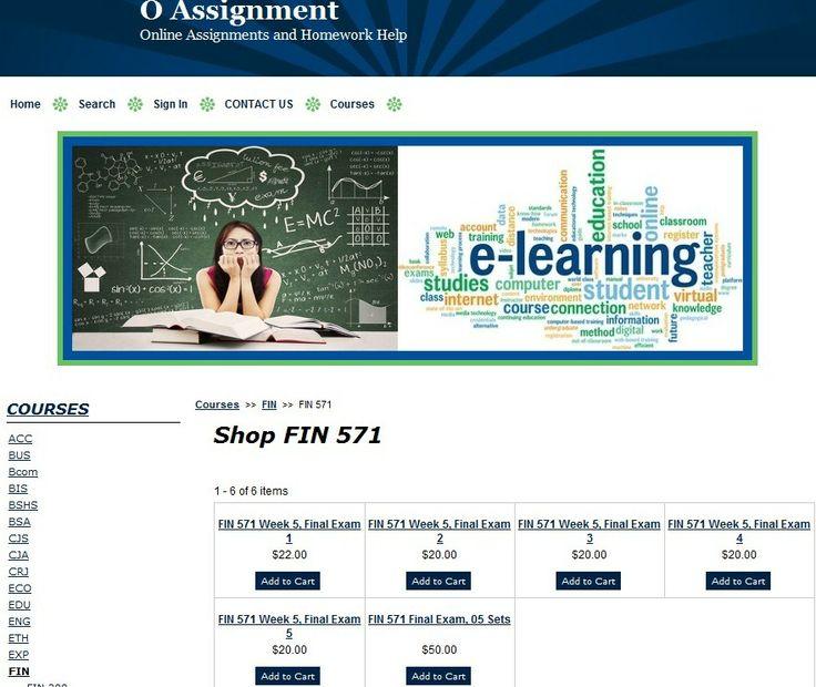 FIN 571 Final Exam, 05 Sets