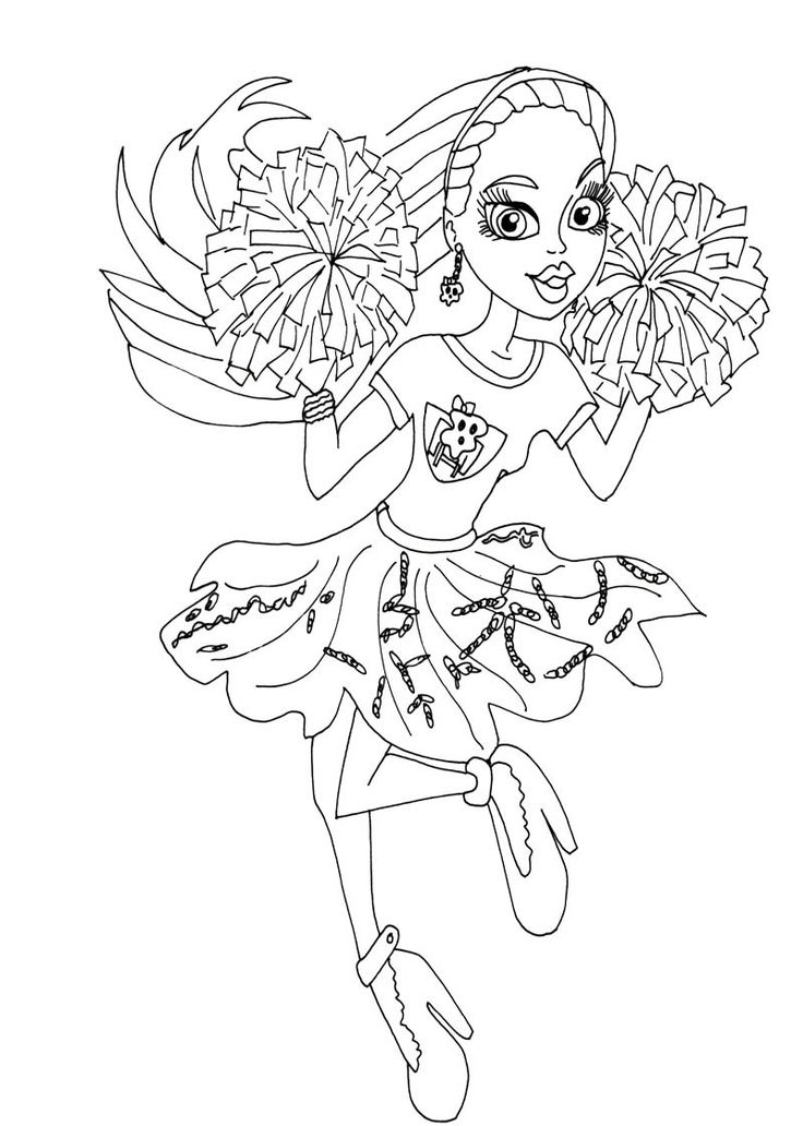 229 best Monster High Coloring Page images on Pinterest