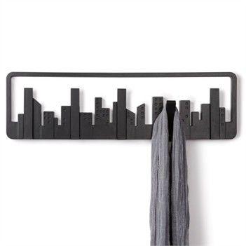 Una vista newyorkese direttamente sulla parete  Skyline multi hooks Umbra