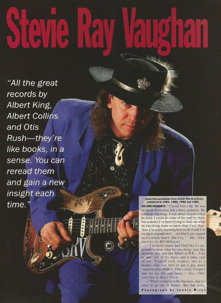 ♫'''1990 Stevie Ray Vaughan SRV Guitar Photo Print Ad...☺...'''♫ http://www.ebay.fr/itm/1990-Stevie-Ray-Vaughan-SRV-Guitar-Photo-Print-Ad-/381181570136?pt=LH_DefaultDomain_0&hash=item58c0312c58
