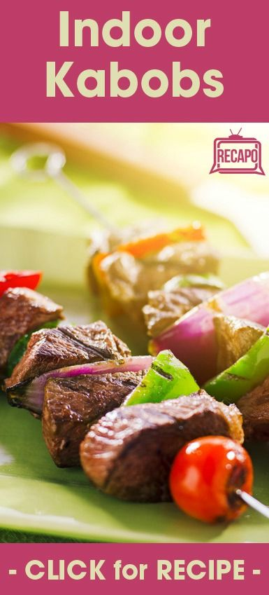 Summer is coming to an end, but that does not mean you have to stop enjoying barbecue grill-style food. You can make Rachael Ray's Garlic Beef Skewers Recipe indoors using your oven broiler. This complete meal comes with its own potatoes and a spiked ketchup sauce.