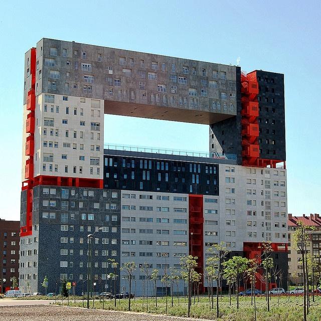 Edificio Mirador à Valdefuentes, Madrid, Madrid, Espagne