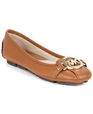 MICHAEL Michael Kors Shoes, Fulton Moc Flats - Shoes - Macy's