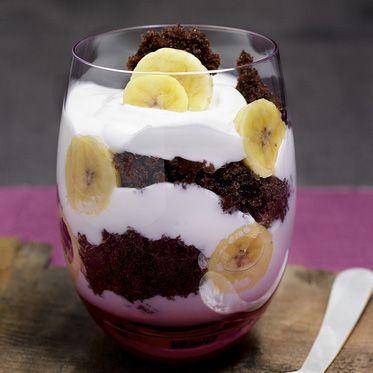 Bananentrifle im Glas Rezept | Küchengötter