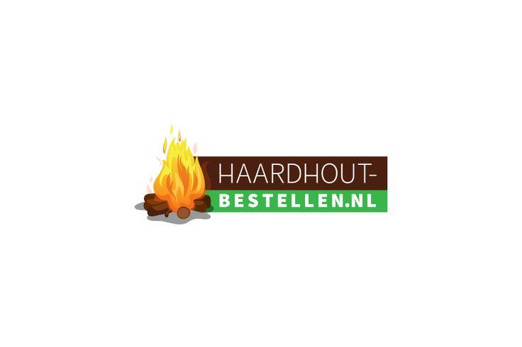Haardhout-bestellen | Logo design | Fire wood | Pach Design Communicatie