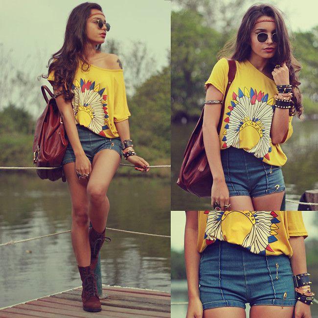 Chicnova T Shirt : 【この夏おすすめ】ショートパンツ着こなし参考画像【セレブ】 - NAVER まとめ
