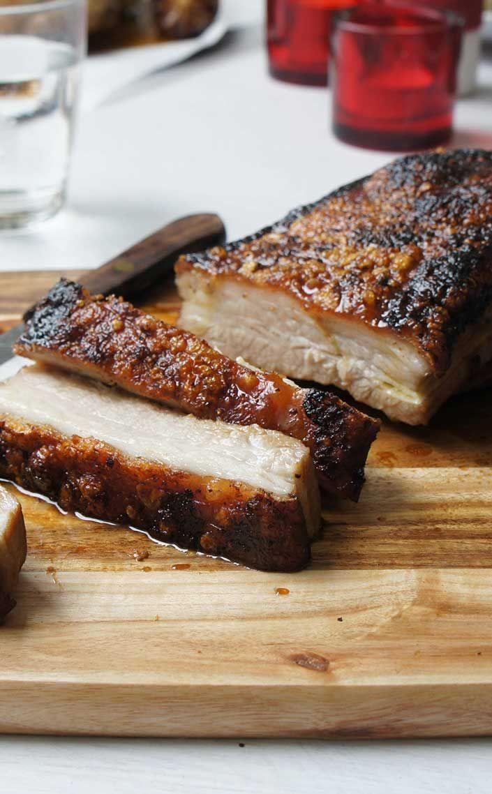 Vegemite Crackling Roast Pork