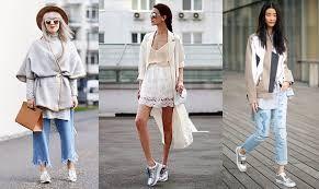 Resultado de imagem para como combina as roupas com flatforms