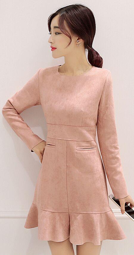 #suede #pink