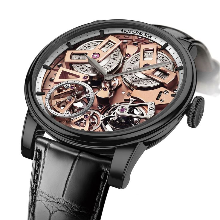 TimeZone : Industry News » N E W M o d e l - Arnold & Son Tourbillon Chronometer No.36 Gunmetal