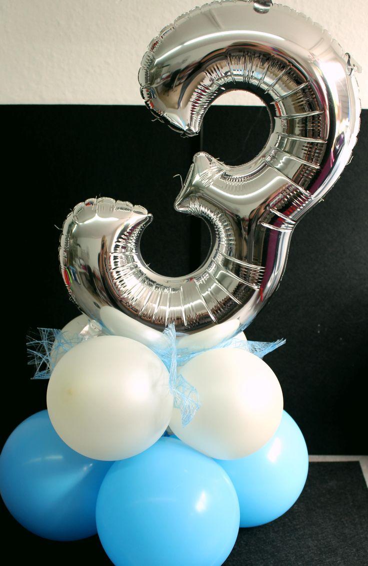#Tischdekoration #Party #Luftballondekoration #Notes