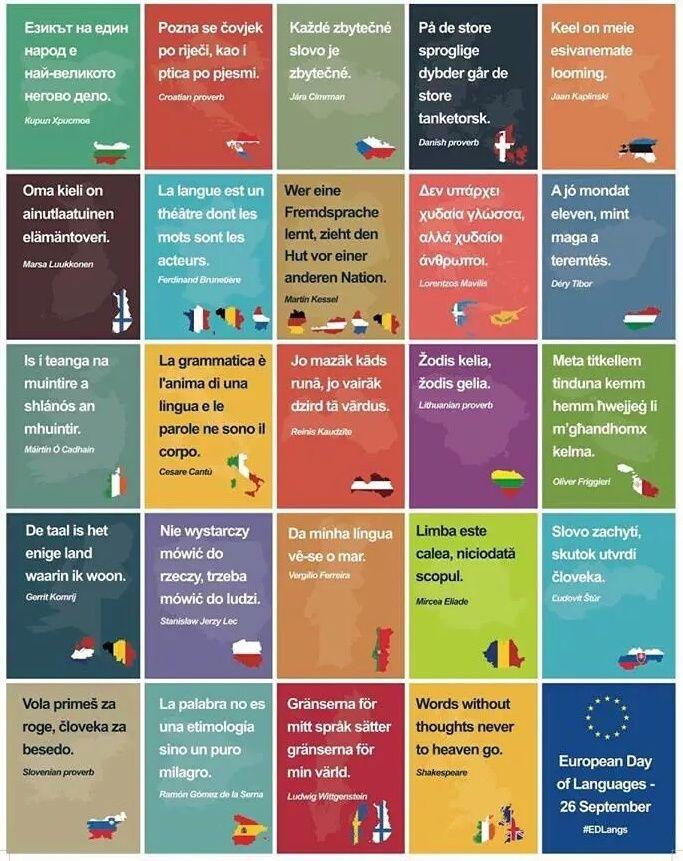 El Conde. fr: La fête des Langues Européennes