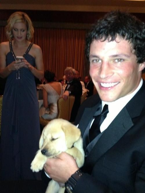 I've never been so jealous of a puppy...