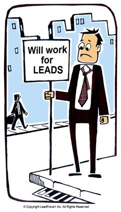 how to sell sales leads