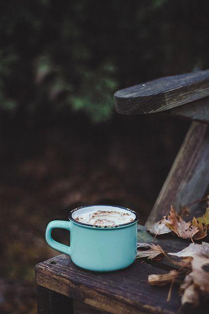 autumn cocoa, backyard bliss