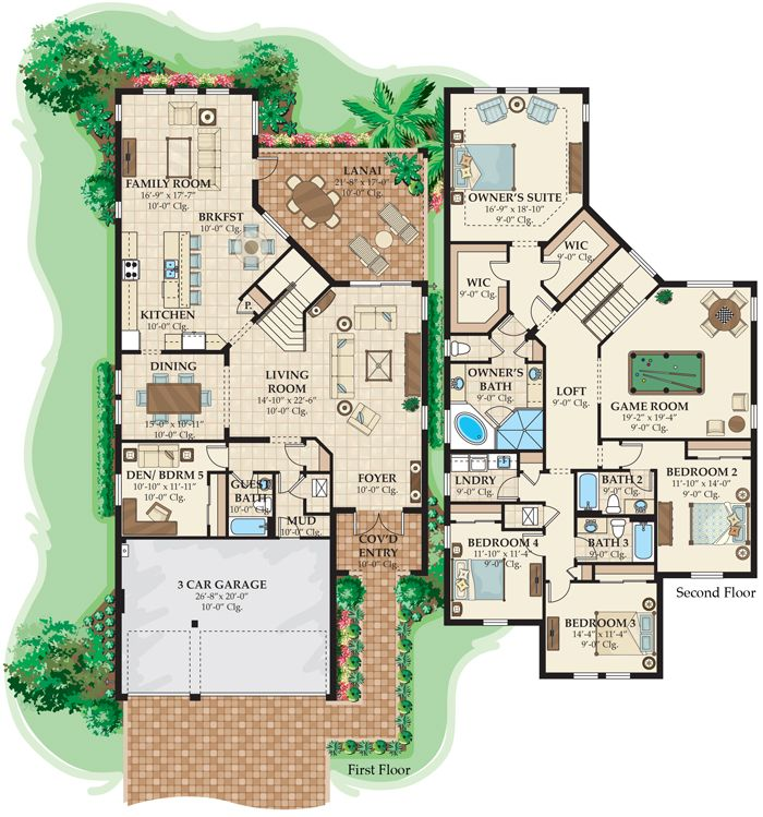 The 25 best 4000 sq ft house plans ideas on pinterest for 4000 sq ft modular homes