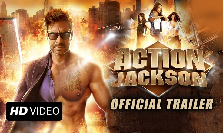 Action Jackson Official Trailer @ www.gulte.in
