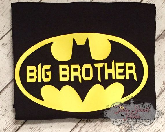 Youve found it! The perfect big brother shirt for your little superhero. Have any questions? Feel free to click that contact button. We will get