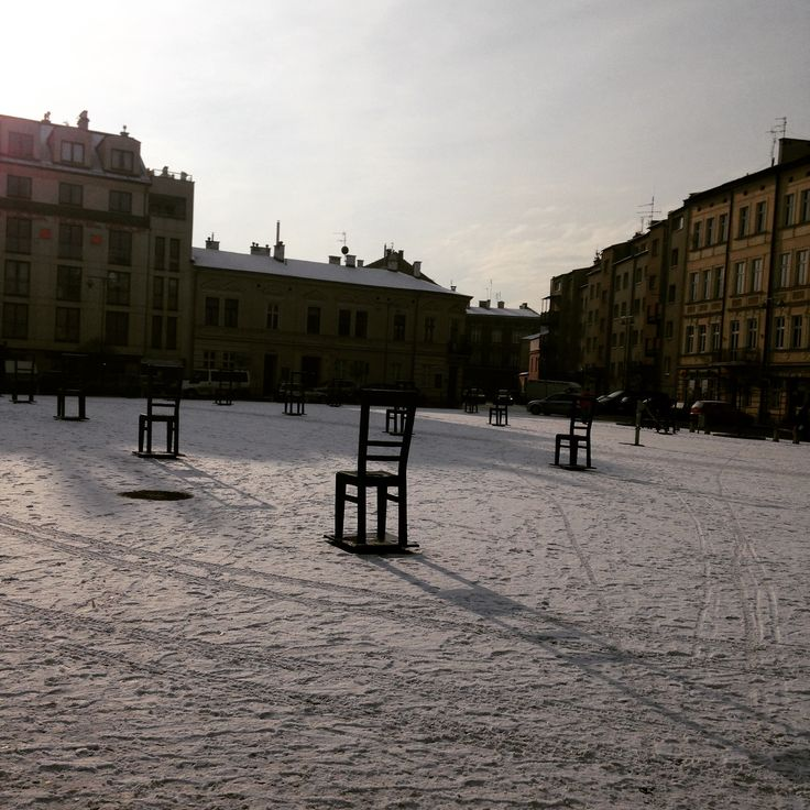 Jewish Quarter Ghetto heroes'Square Podgorze Krakow