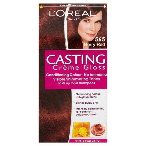 L'Oreal Paris Casting Creme Gloss Hair Colourant 565 Berry Red by L'Oreal, http://www.amazon.co.uk/dp/B004PIA63E/ref=cm_sw_r_pi_dp_FU3Psb0NKBE51