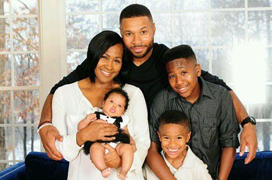 FAMILY PHOTOS: TERRI VAUGHN AND CO. - Black Celebrity Kids