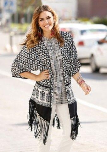 Košeľa s potlačou a strapcami #ModinoSK #boho #bohostyle #fashion