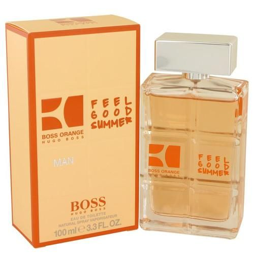 Boss Orange Feel Good Summer by Hugo Boss Eau De Toilette Spray 3.3 oz