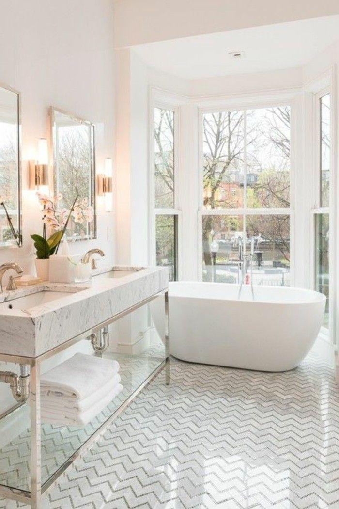 415 best badezimmer ideen fliesen leuchten dekoration images on pinterest decoration - Badgestaltung mit pflanzen ...